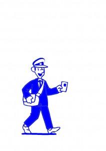 Postman Left Facing